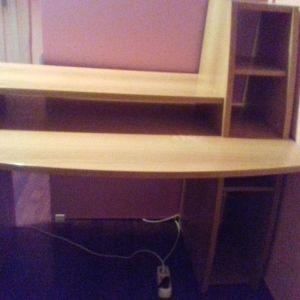 Γραφείο υπολογιστή + δώρο παιδική καρέκλα γραφείου