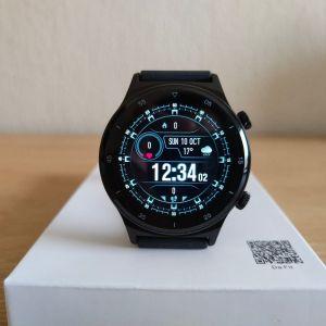Smartwatch καινούργιo με οθόνη 360*360 ,custom watchfaces και ένδειξη καιρού