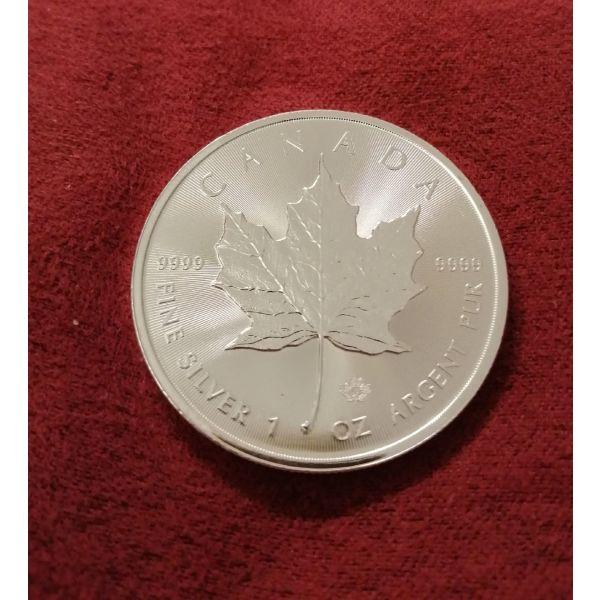 Canada Maple Leaf Silver coin 1 oz!!!