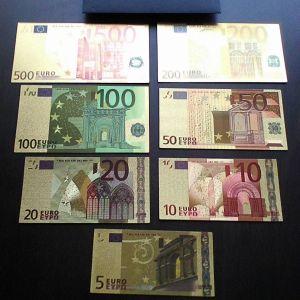 Χαρτονομίσματα ευρώ replicas en chriso