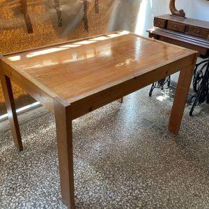 Τραπέζι ξύλο - τζάμι
