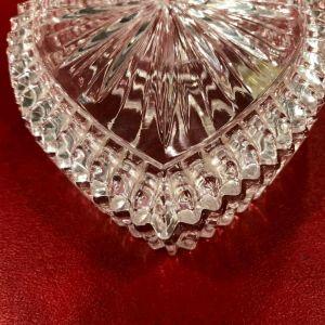 Κουτάκι/ μπιζουτιερα Nachtmann σε σχήμα καρδιάς Bleikristall Germany