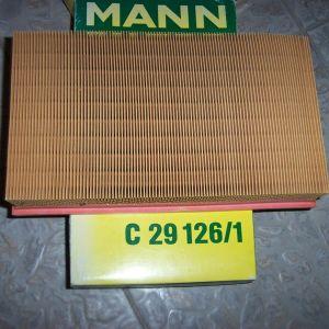 MANN C 29126-1 AIR FILTER MERCEDES BENZ W124-W201-SANGYONG - 190 DIESEL-200 DIESEL TURBO MUSSO KORANDO