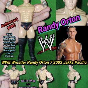 Wwe Randy Orton Wrestling Figure Jakks Pacific 2003 Αυθεντική Φιγούρα Παλαιστή