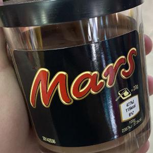 πραλίνα Mars