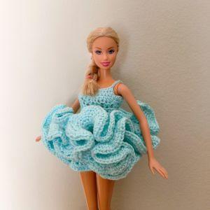 Πλεκτό φόρεμα Barbie