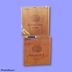 Κουτιά ξύλινα από πούρα (5)