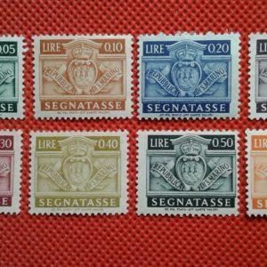 Γραμματόσημα San Marino