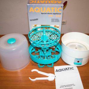 Αποστειρωτής βρεφικών ειδών όπως μπιμπερό, πιπίλες και άλλα αξεσουάρ Aquatic pm 220 10 €