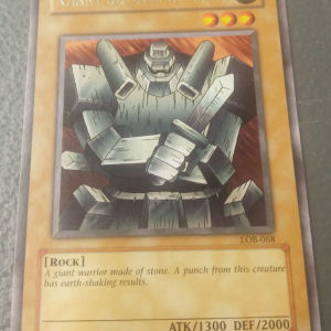 Giant Soldier Of Stone (Rare, LOB)