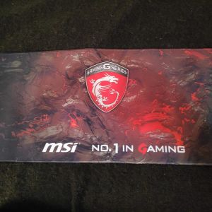 Extra Large MSI Dragon Gaming Mousepad