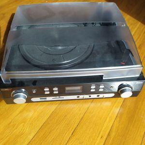 TECHNAXX TX-22 - ΜΕΤΑΤΡΟΠΕΑΣ (ΨΗΦΙΟΠΟΙΗΤΗΣ) ΗΧΟΥ ΔΙΣΚΟΥ ΒΙΝΥΛΙΟΥ, ΚΑΣΣΕΤΑΣ, ΡΑΔΙΟΦΩΝΙΚΟΥ ΣΤΑΘΜΟΥ FM ΣΕ MP3