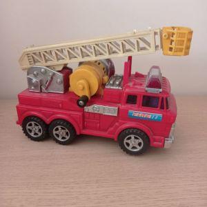 Μηχανικό Αυτοκίνητο πυροσβεστικής βιντατζ 1986 λειτουργικό