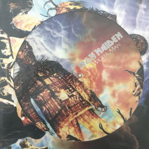"""IRON MAIDEN THE WICKER MAN 12"""" PICTURE DISC"""