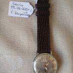 Ρολόι χειρός Darwil, μηχανικό ( κουρδιστό), δεκαετίας'60. Νο 159621 7041. Σέρβις 25-06-2020. Λειτουργικό.