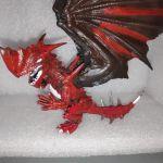 Φιγουρα Φαντασιας Κοκκινος Δρακος