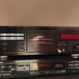 Teac V 1039 stereo cassette deck  Dolby b/c  HX-pro noise reduction.