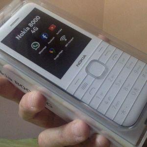 Nokia 8000 4G, λευκό, αχρησιμοποίητο, στο κουτί του