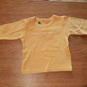 Benetton μπλουζακι για 1-3μηνων