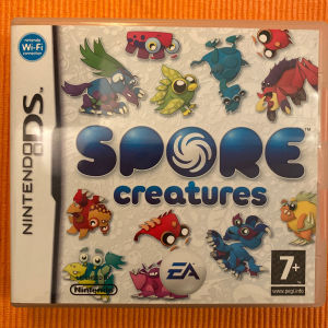 Nintendo ds game Spore