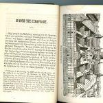 Αττικόν Ημερολόγιο Ειρηναίου Ασώπιου, 2 έτη ( 1869 + 1879) δεμένα σε δερματόδετο τόμο, σπάνιο συλλεκτικό έντυπο με γκραβούρες δυσεύρετο