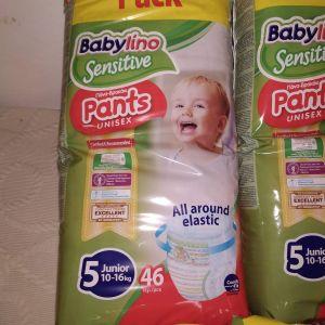 2 πακέτα Πάνες Βρακάκι Babylino Sensitive Pants