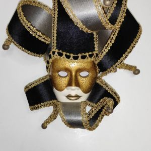 Handmade Venetian Masquerade Mask - Made in Italy