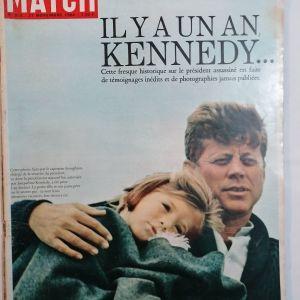 ΚΕΝΕΝΤΥ - PARIS MATCH Νοέμβριος 1964