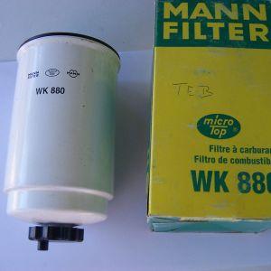 MANN WK 880 -ΦΙΛΤΡΟ ΚΑΥΣΙΜΟΝ FUEL FILTER DIESEL - FORD TRANSIT TOURNEO 2,5 D DI TD TDI
