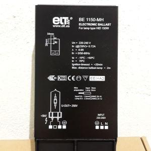 Ηλεκτρονικός Μετασχηματιστής BE 1150 MH για Λάμπες Μετάλλου G12 150W