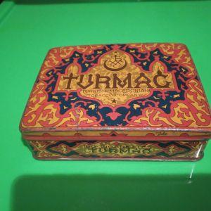 TURMAC παλαιο μεταλλικο κουτι τσιγαρων