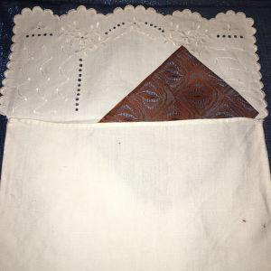 Θήκη κοφτό για μαντήλια vintage
