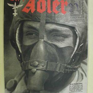 1942 ΓΕΡΜΑΝΙΚΟ ΣΥΛΛΕΚΤΙΚΟ ΠΕΡΙΟΔΙΚΟ ΤΗΣ ΑΕΡΟΠΟΡΙΑΣ  ADLER N.12