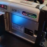 PANASONIC NV-VZ10 VHS-C Video Camera 250x Digital Zoom Camcorder