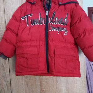 Παιδικό μπουφάν μάρκας Timberland και ΔΩΡΟ ένα ακόμη μπουφάν.