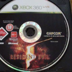 Resident evil Xbox 360 live