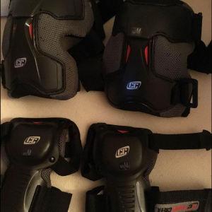 Πλήρες σετ προστατευτικού εξοπλισμού για skate
