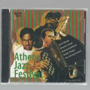 CD - Athens Jazz Festival - Al Di Meola - Charles Lloyd - Richard Galliano