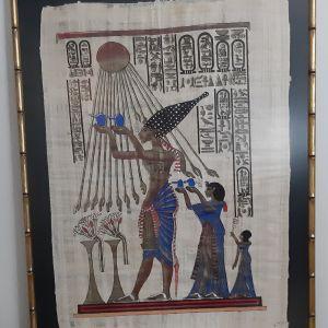 Δύο (2) Αιγυπτιακοί Πάπυροι