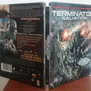 Terminator Salvation (Bluray steel book 2d)