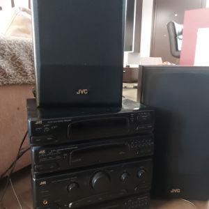 ηχοσύστημα JVC
