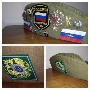 στρατιωτικό καπάκι τύπο του κόκκινου στρατού