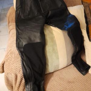 Ανδρικό Δερμάτινο  Παντελόνια για μηχανή