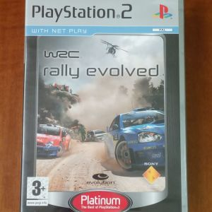 ps2 wrc (rally evolved)
