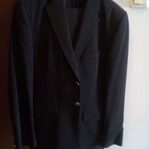 Ανδρικό κοστούμι μαύρο