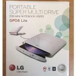 LG GP08 Lite DVD-RW CD-RW USB drive