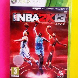NBA2K13 XBOX360 (ΣΦΡΑΓΙΣΜΕΝΟ)+NBA 2K13 Spalding Ball