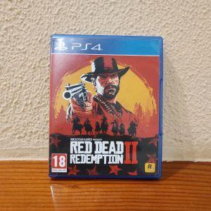 Red Dead Redemption 2 (ps4) άριστη κατάσταση (συμπεριλαμβάνονται ο play disc και ο data disk +δώρο ο χάρτης του παιχνιδιού)