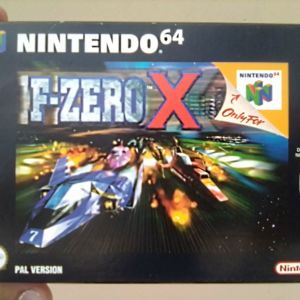 F-Zero X [Nintendo 64]
