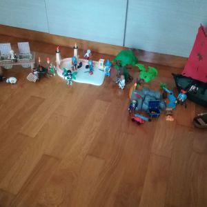 Playmobil Πειρατες και ιπποτες